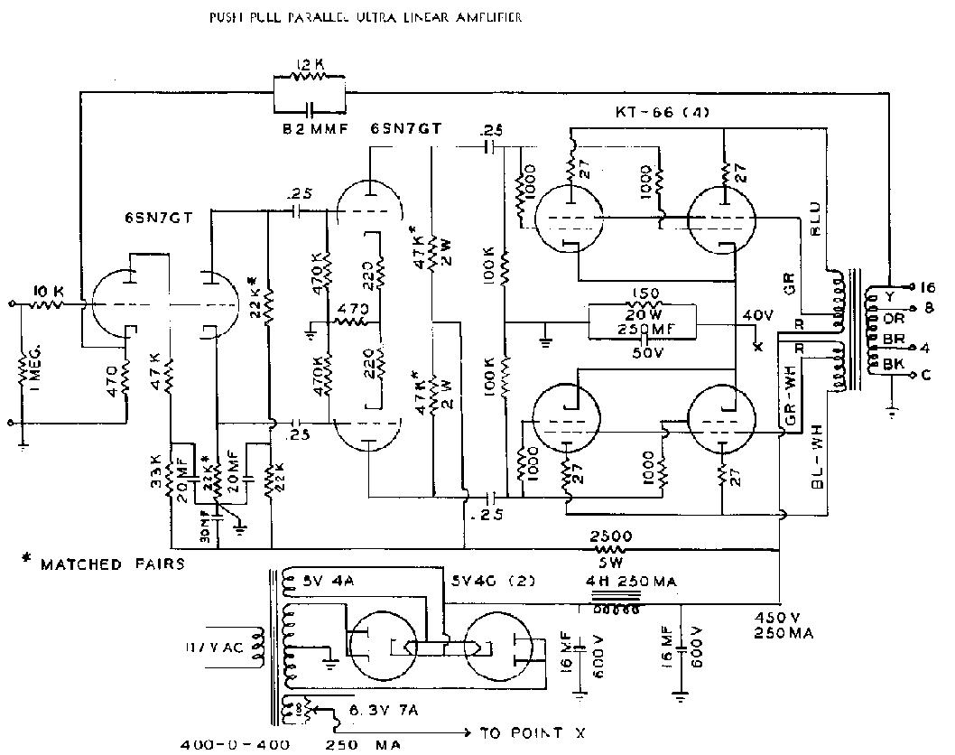 Audio Amplifiers Circuit