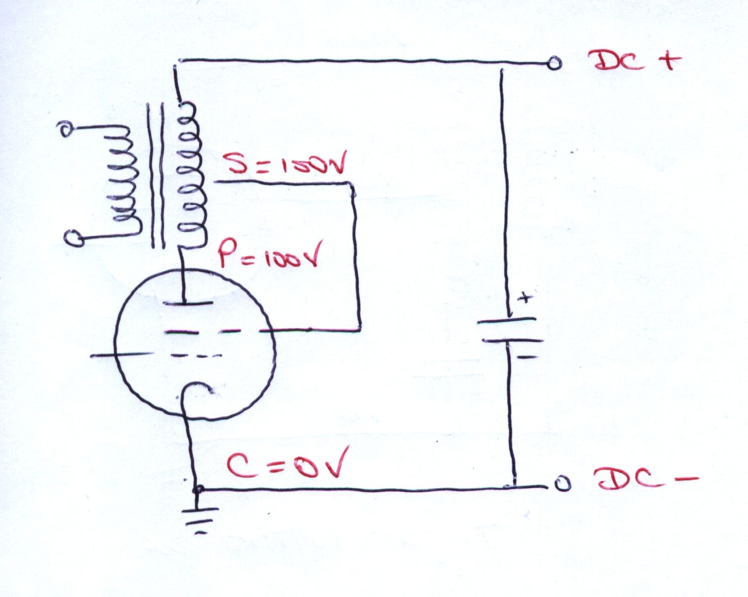 Ultra Linear 6l6a Vacuum Tube Pushpull Amplifier Circuit Diagram The Following Shows How This Is So
